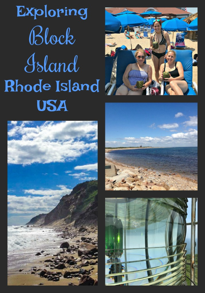 Located just off the coast of mainland Rhode Island, Block Island is the perfect place to spend a day exploring cliffs, beaches and lighthouses and enjoying a sweet New England town. #BlockIsland #RhodeIsland #NewEngland