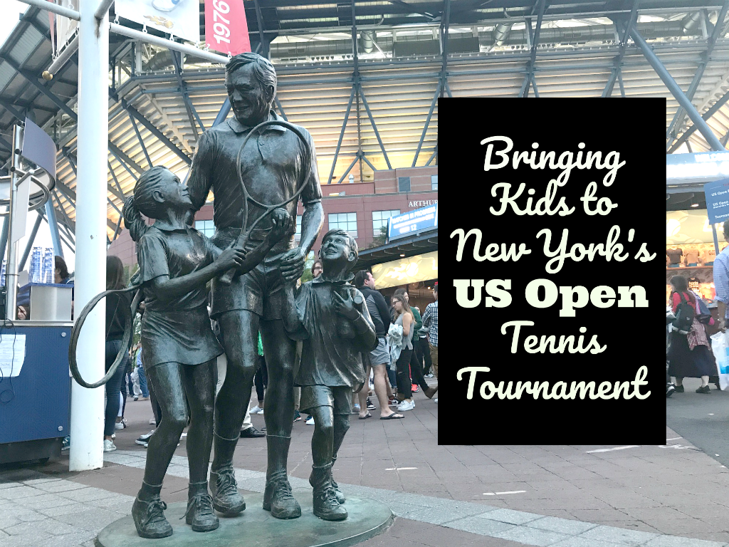 Attending tennis' US Open with kids in New York City