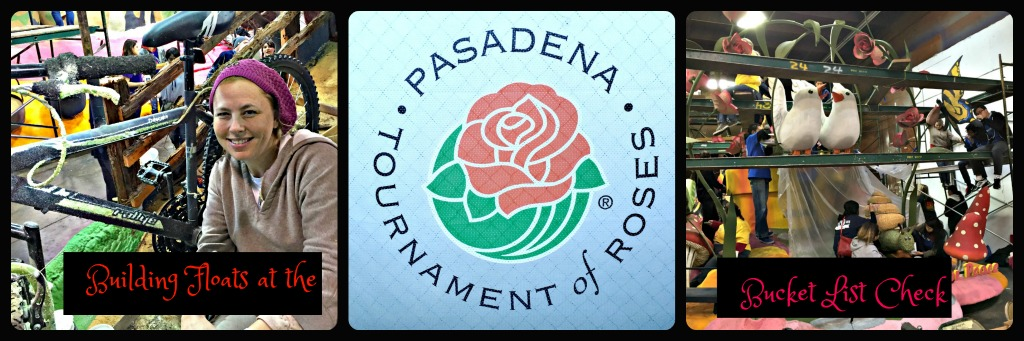 Build floats in Pasadena's Tournament of Roses Parade. www.thedailyadventuresofme.com