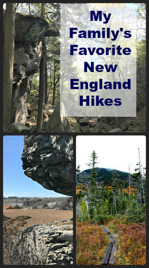 Read on for the best hikes in New England. These hikes are easy enough for even the little ones, but pretty enough for the whole family. #hiking #themidlifeperspecitve #NewEngland #familyfun