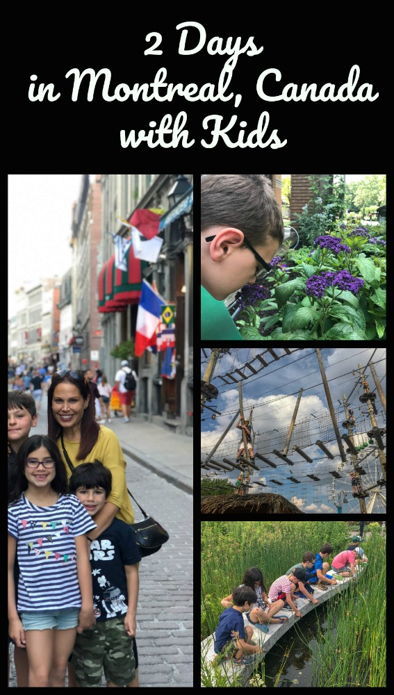 Read on to discover the best way to explore Montreal, Canada with kids. #familyttravel #Montrealwithkids #Canada #travelinCanada