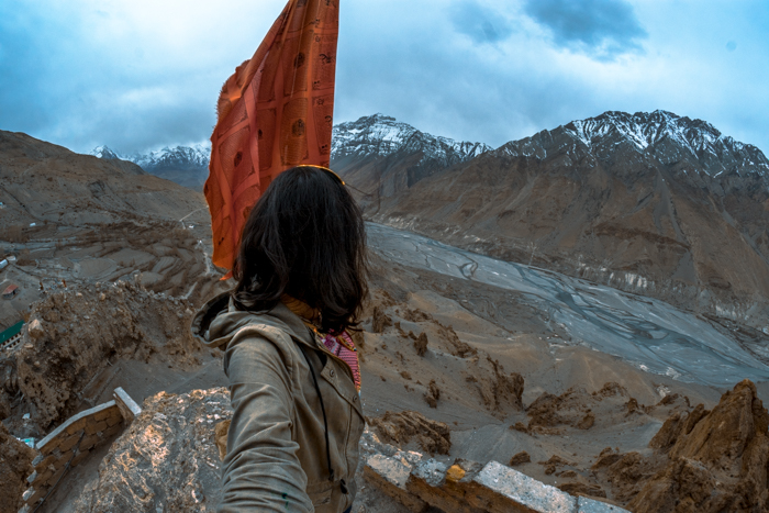 Public transportation to Spiti. Taking the bus to Spiti Valley.
