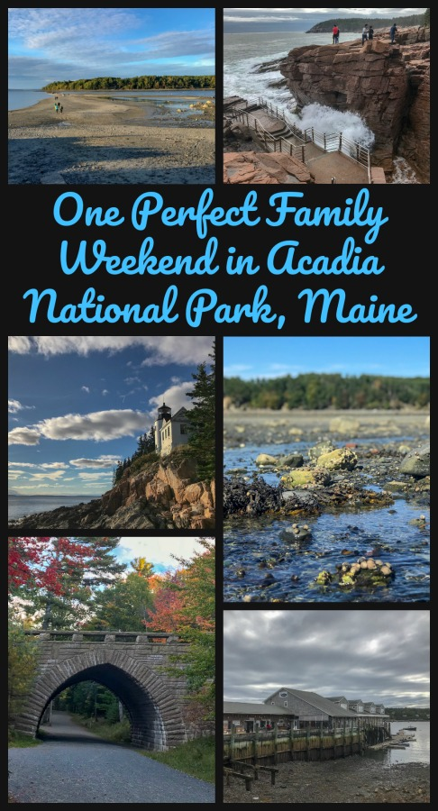 Full of history, unique landscapes, a convenient town and hikes for all members of the family, Read on for my 3-day Acadia National Park itinerary for families. #Acadiawithfamilies #easyhikesAcadia