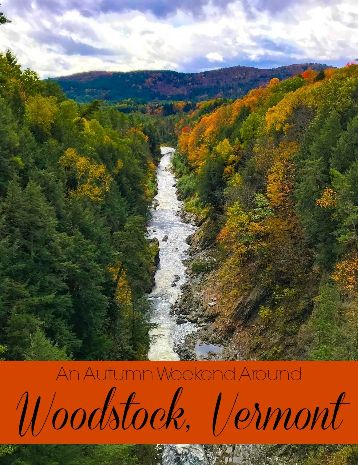 Looking for the perfect #fallgetaway Look no further than Woodstock, Vermont! #foliage #NewEnglandFall
