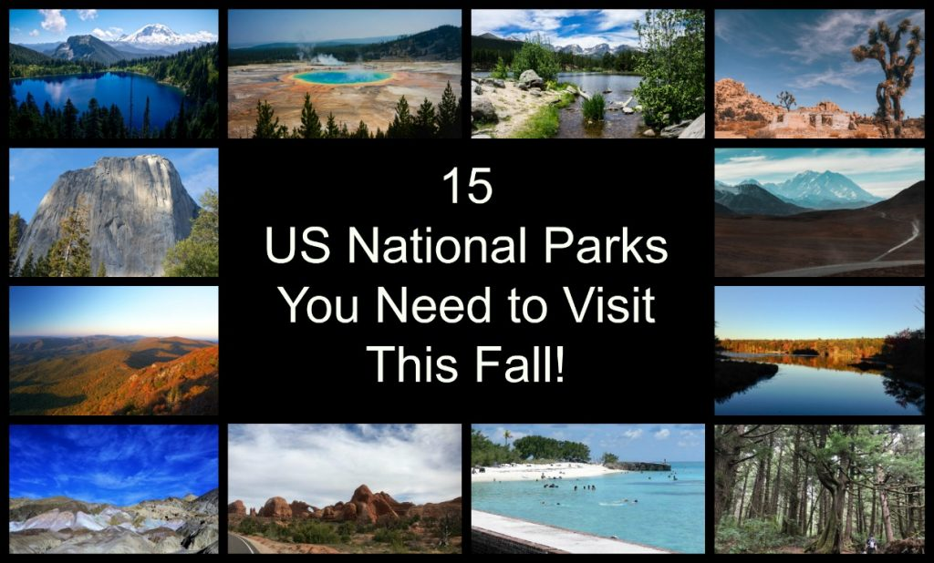 Best US Parks to visit in the fall