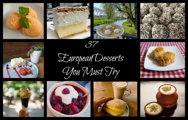 Best European Desserts