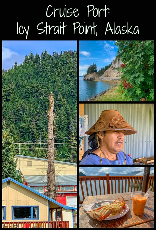 Icy Strait Point is a perfect spot to learn about local cultures and see stunning scenery and wildlife. Read on for what to expect in Icy Strait and what to do. #themidlifeperspective #Alaska #cruising