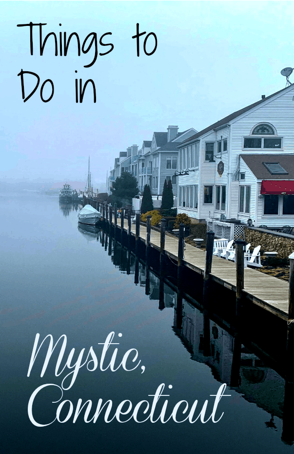 The small village of Mystic in southeast Connecticut is the perfect spot in for a family day or a Connecticut weekend getaway. It is full of history, but also has a small, quaint downtown on the Mystic River, the nation's largest maritime museum and a world-class aquarium. Read on for things to do in Mystic, Connecticut. #Connecticut #NewEngland #ships #TBIN