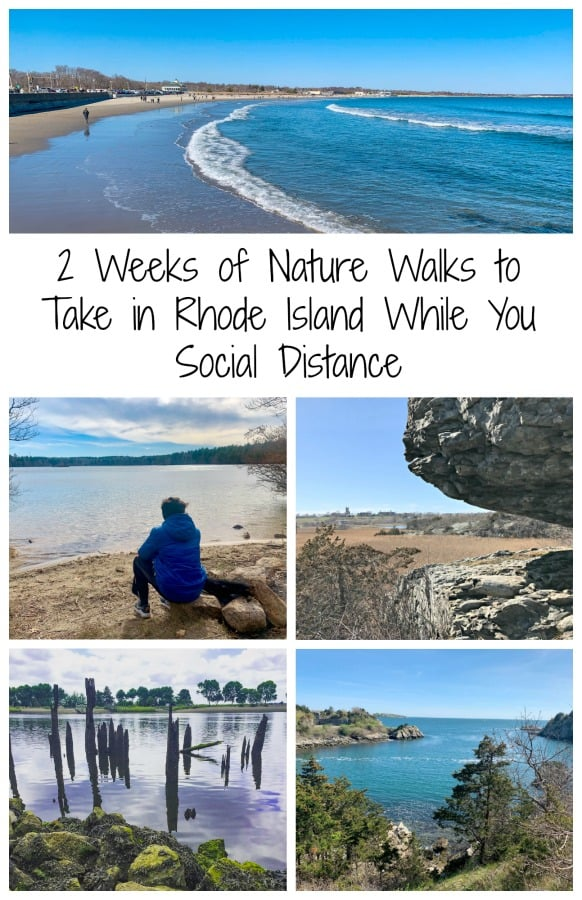 The positive we can take out of this bizarre time is that many of us will have time to be with our families and do things that we have wanted to do. My family is taking a chance each day to spend time in nature. Read on for two weeks of walks and hikes in Rhode Island. #TBIN #Socialdistancing #hikesinRhodeIsland