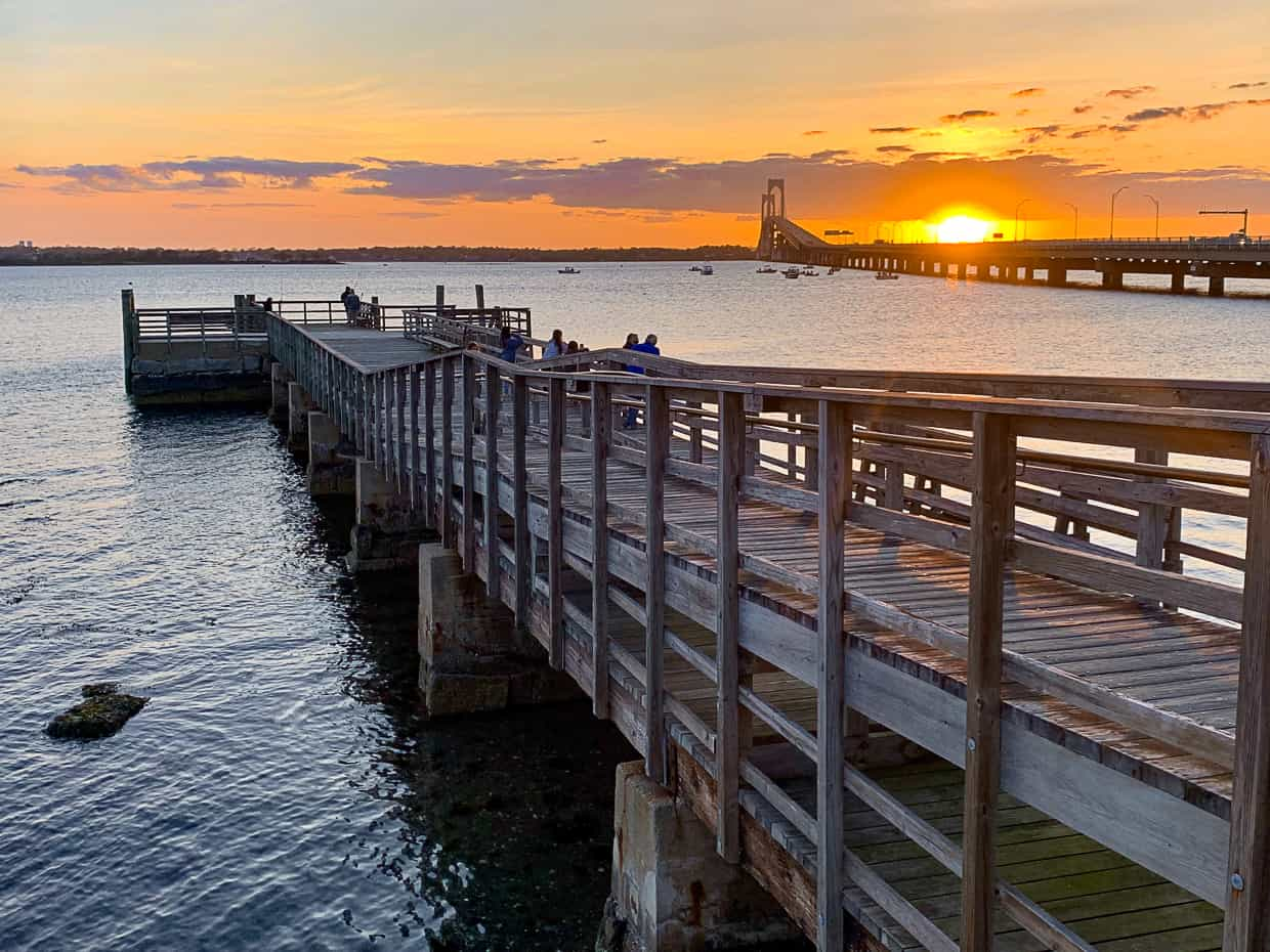 Best sunsets in Newport, Rhode Island