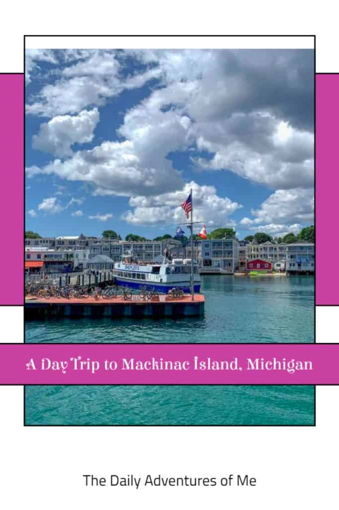 Explore the darling island of Mackinaw in the UP of Michigan- its colonial streets, forts, hiking trails and famous fudge. #MichiganUSA #PureMichigan #MidwestUS